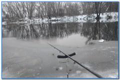 Рыбалка на фидер зимой. Фидерная ловля на реке Оскол 22 ноября 2020г.