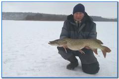 Зимняя рыбалка в Самойловке с 19-го на 20-е декабря 2020г.