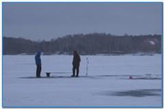 Особенности зимней рыбалки.