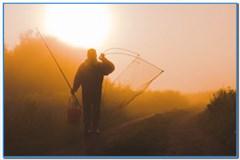 Дорога на рыбалку бывает разной.