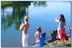 Девушки на рыбалке.