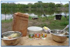 Уха на рыбалке, рецепт приготовления.