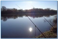 Весенняя рыбалка зависит от погоды.