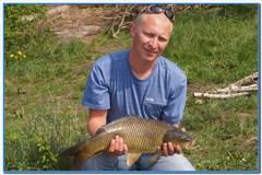 Отчет о платной рыбалке в Прилепах 6 мая 2012г.