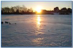 Первая зимняя рыбалка на Старооскольском водохранилище.