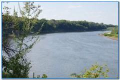 Первая рыбалка на реке Дон.