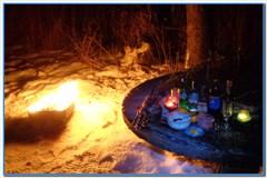 Новогодняя рыбалка в Самойловке.