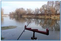 Зимний фидер на реке Оскол.
