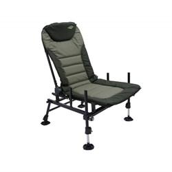 Фидерное кресло Carp Pro Feeder Chair, по своим характеристикам очень близко к рыболовной платформе.
