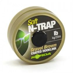 Поводковый материал Korda N-Trap Soft Gravel 20м