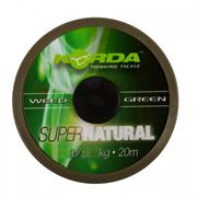 Поводковый материал Korda Super Natural Weedy Green 20м